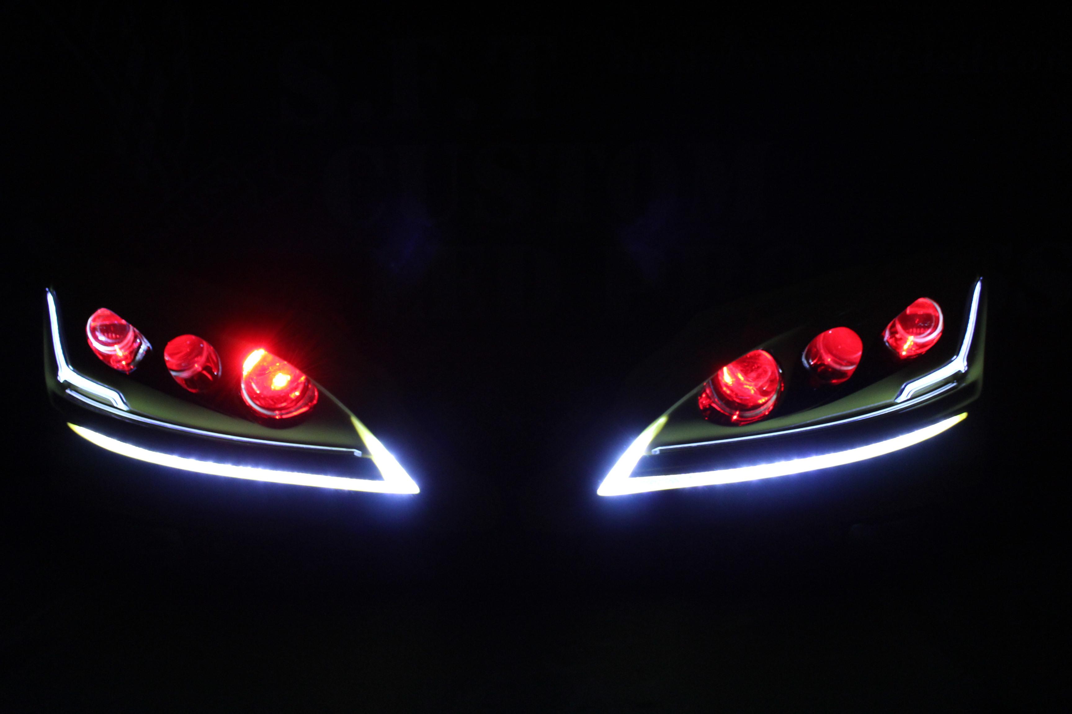 レクサス LS600 ヘッドライトカスタム
