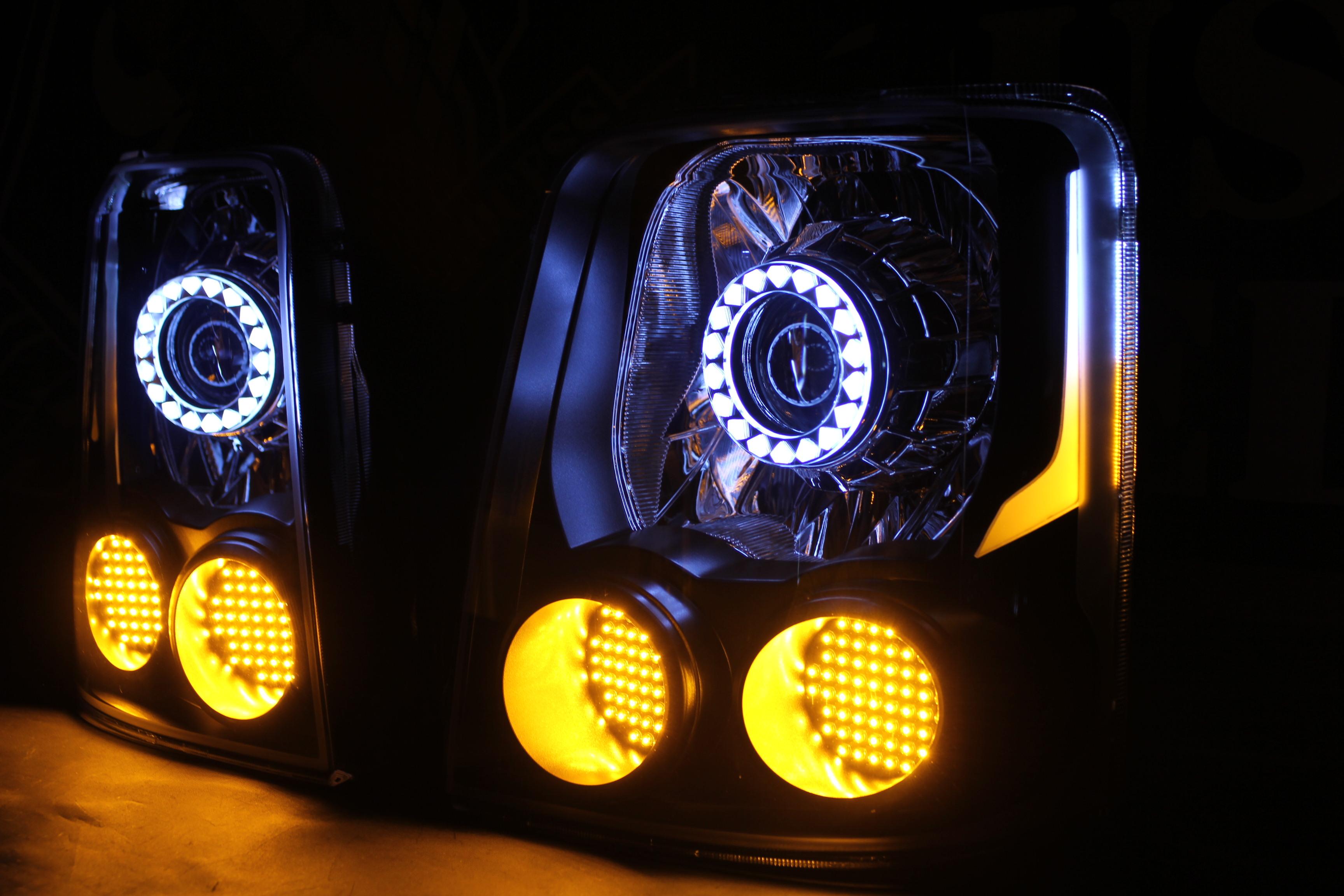 カローラルミオン ヘッドライト加工