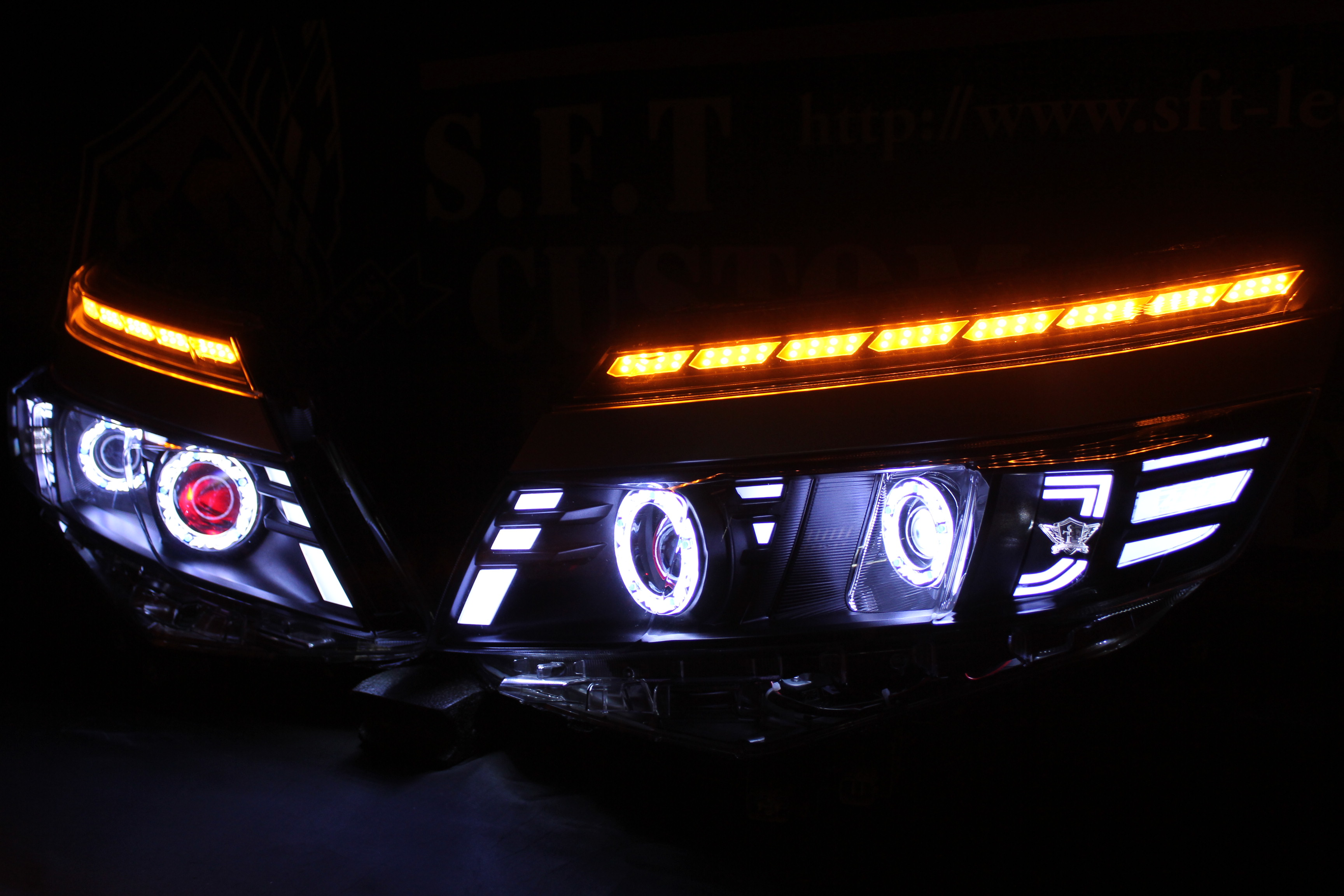 80ヴォクシー ヘッドライト加工