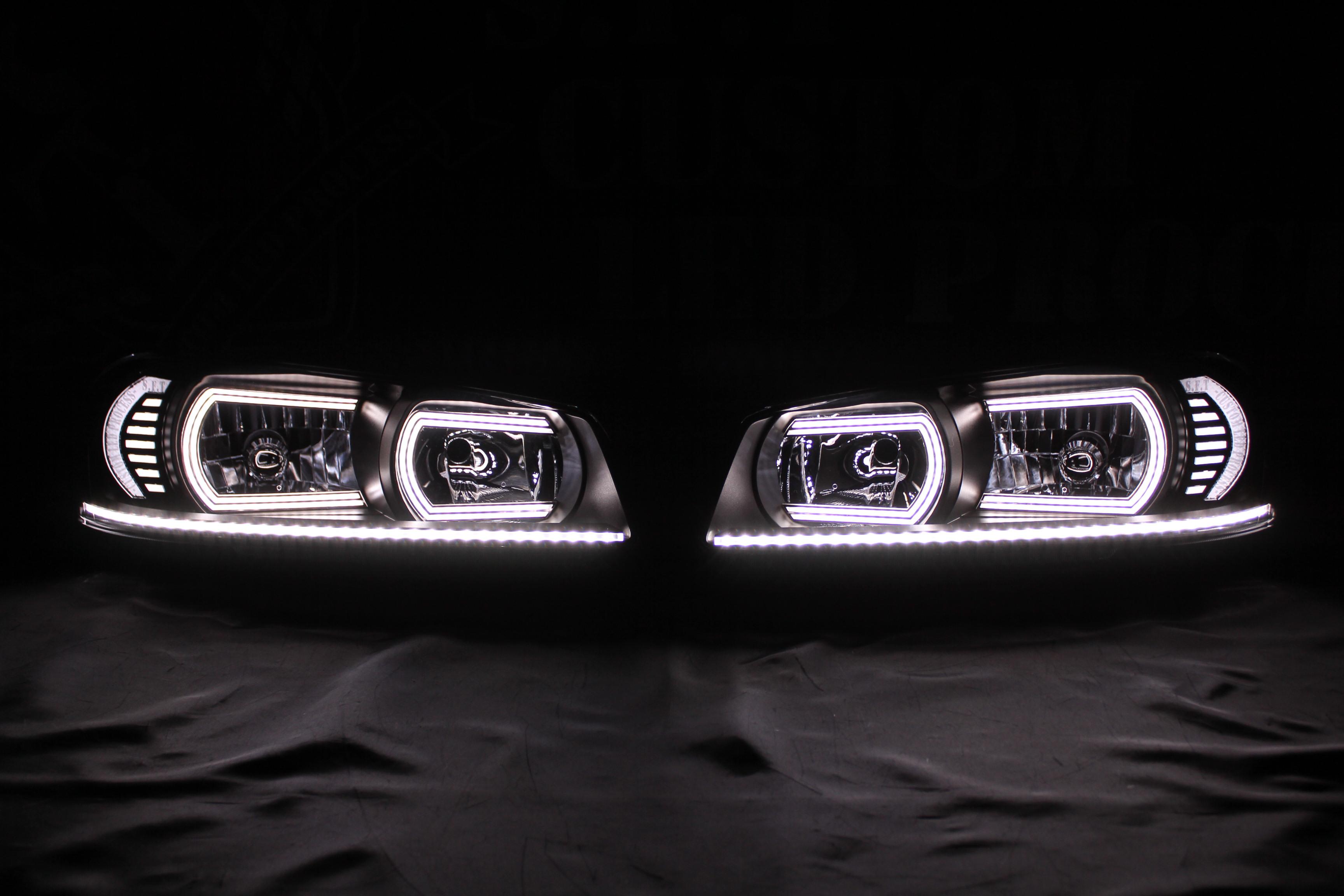 GT-R34 アクリル ヘッドライト加工