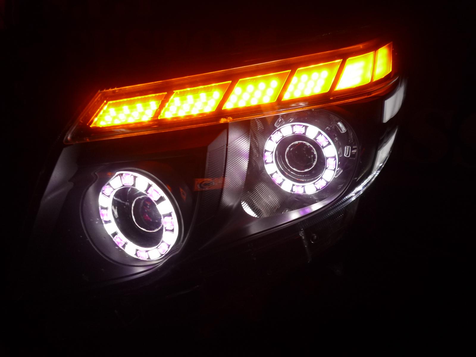 80ノア ヘッドライト加工