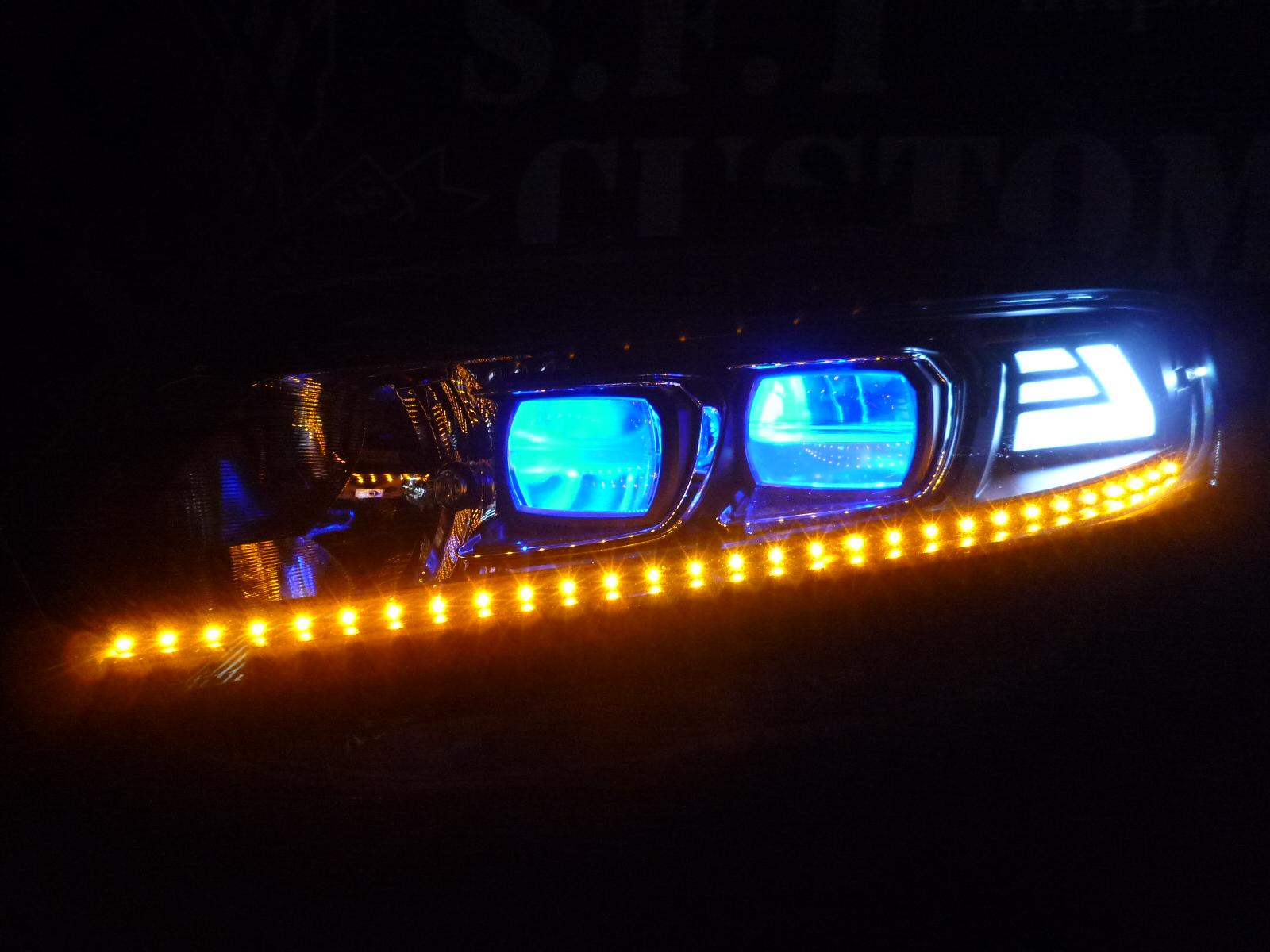 S660 ヘッドライト加工