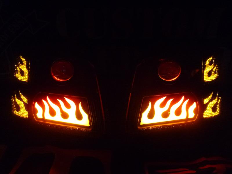 ワゴンR ヘッドライト加工