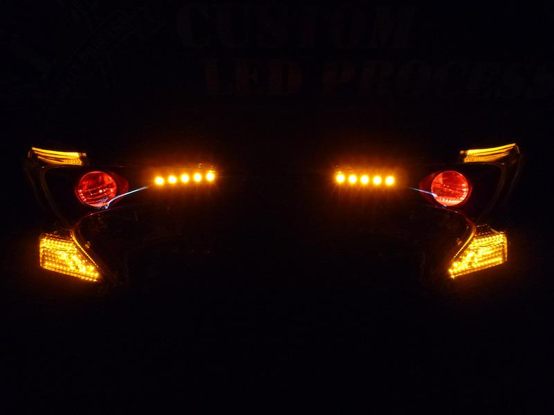 50プリウス ヘッドライト加工