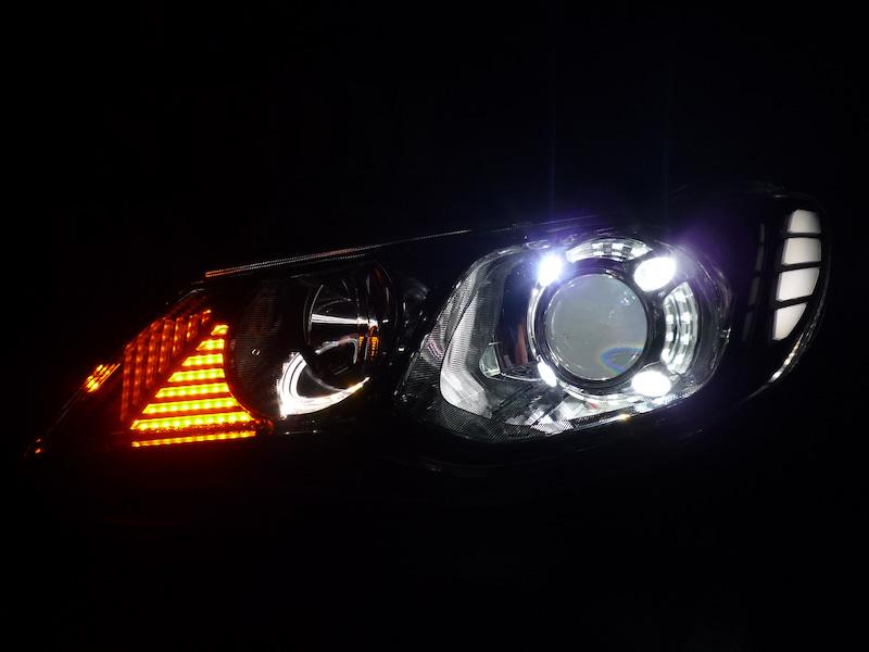 FD2シビック ヘッドライト加工