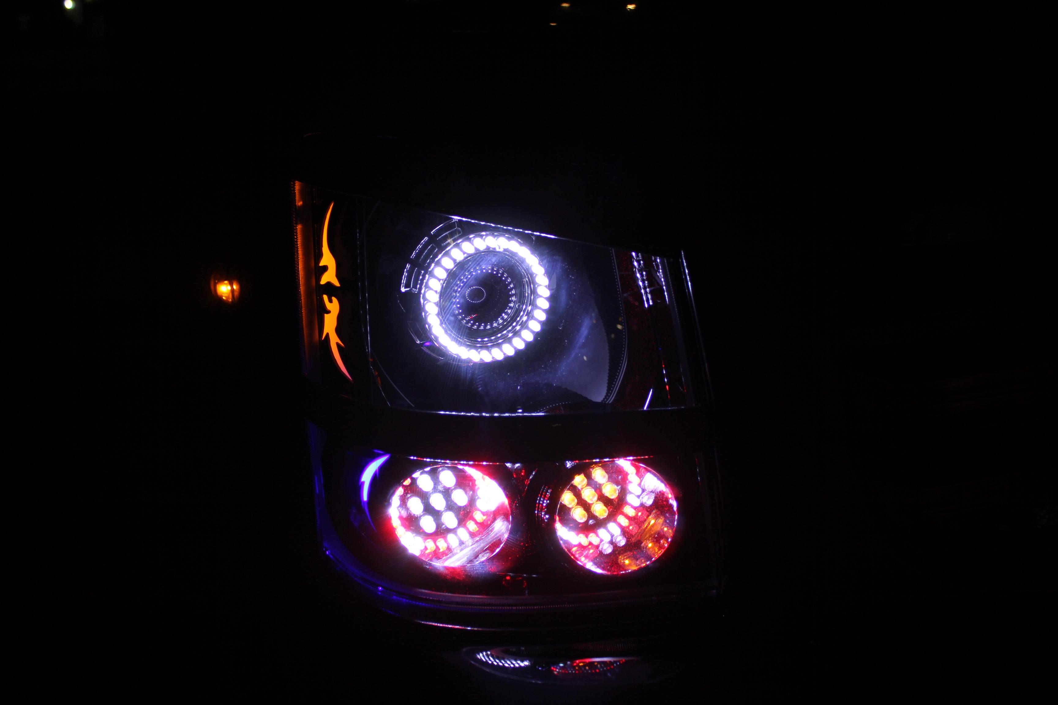 64エブリイ ヘッドライト加工