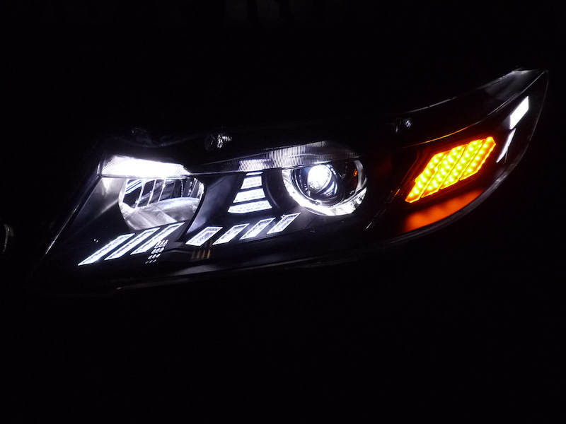 RB3 オデッセイ ヘッドライト加工