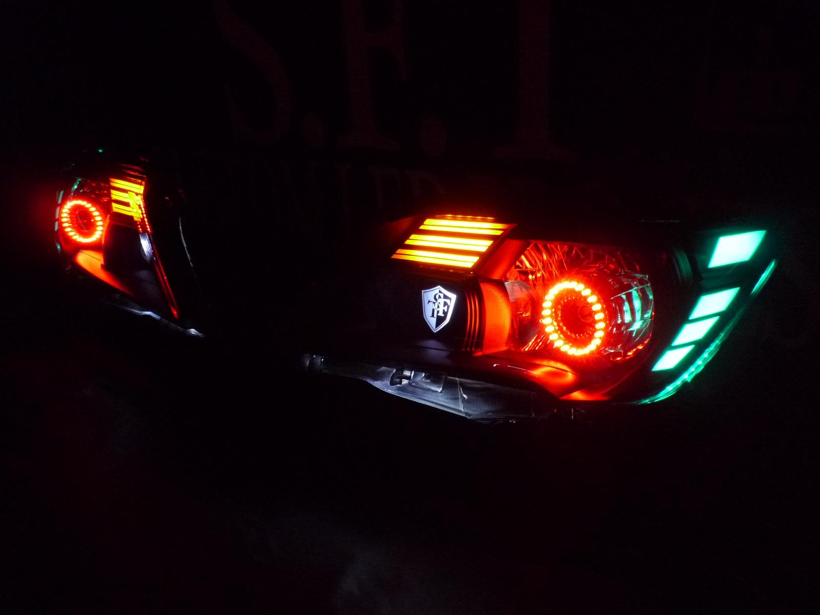 セレナ ヘッドライト加工