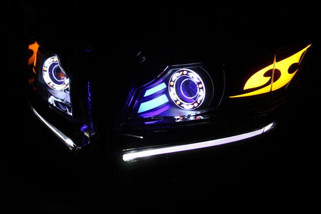 N-WGN エヌワゴン アクリル ヘッドライト加工