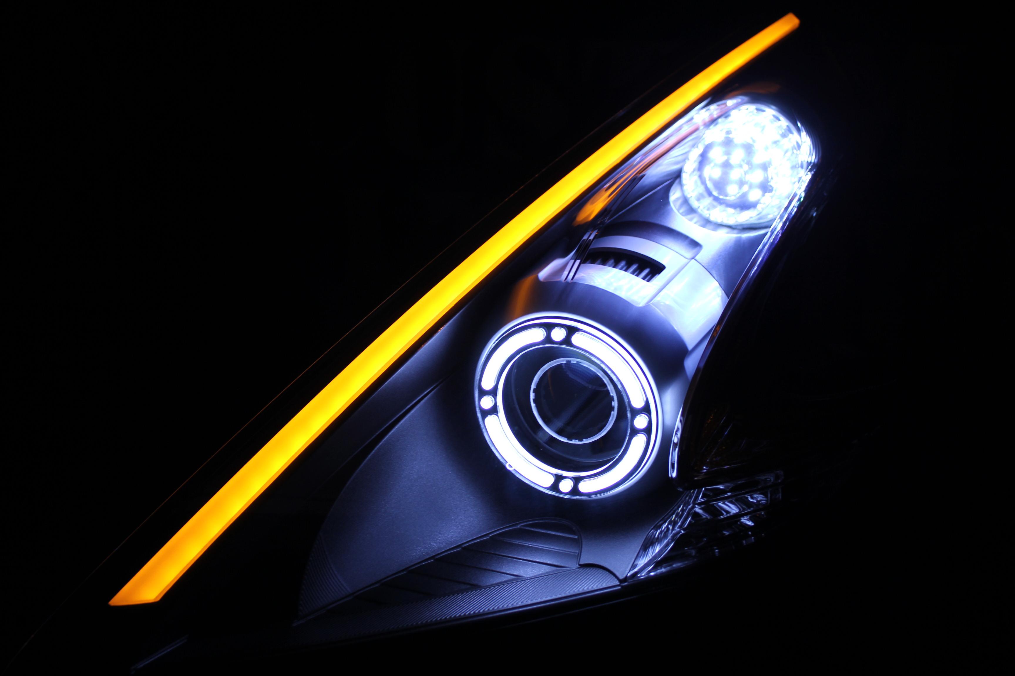 Z34 アクリル ヘッドライト加工